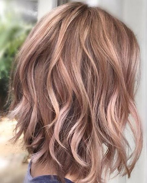 Winter hair colors