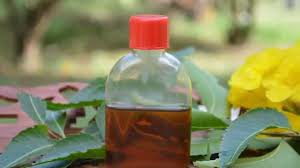 Remove pimples with neem oil