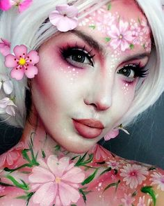 Fairy look makeup
