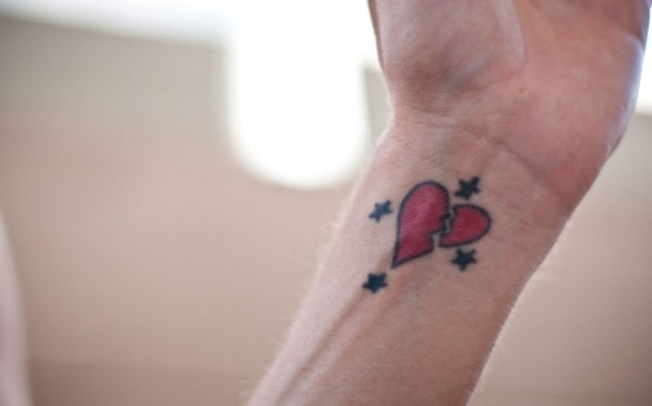Heart Tattoo Designs For Women-A Great Tattoo For Girls