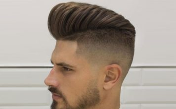 Comb Over Fade Hairstyles