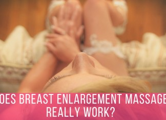 women breast massage enlargement