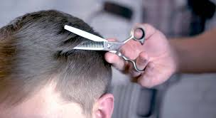 how to use thinning shears