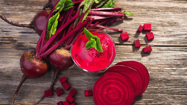 how to dye your hair with beets